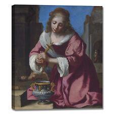Vermeer santa Prassede design quadro stampa tela dipinto telaio arredo casa