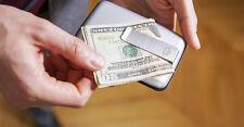 Ogon Designs STOCKHOLM MONEY CLIP Aluminium Credit Card Wallet RFID From France*