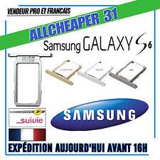 Tirroir carte sim rack sim samsung S6 SM G920 Original ou kit d'outil au choix