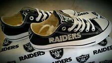 Oakland Raiders Converse Women's Sneakers