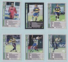 Football Cards - WCCF Serie A 2001-2002 (Panini) - Select a Team Set