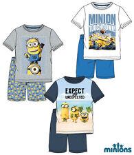 Minions Shorty Kollektion 2016 Pyjama Shorty Schlafanzug  Gr. 116 - 152