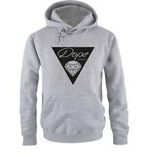 DOPE Dreieck - Deluxe - DOPE diamond - Einfarbig - Herren Hoodie - Gr. S bis XXL