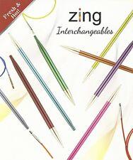 Knit Pro Zing austauschbare Nadelspitzen verschiedene Größen  *FlinkeNadel-Shop*