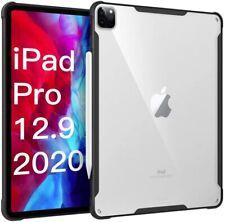 Flexible Soft TPU Edge & Clear Hard PC Back Case For  iPad Pro 12.9 2020 4th Gen