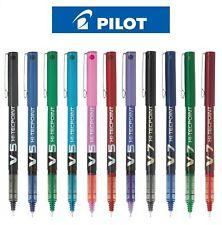 Pilot Hi-Tecpoint V5/V7-Tinta Líquida Roller Ball Pen Negro Azul Rojo 0.5/0.7