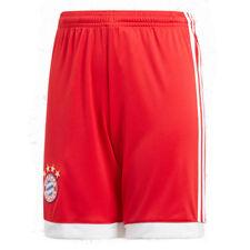 Adidas Niños FC Bayern Munich Homesshort Heim Pantalones Tricot 2017/2018 Rojo