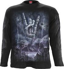 Spiral Rock Eternal, Longsleeve T-Shirt Black|Metal|TombStone|Death|Celtic