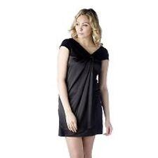 Taylor Dresses Charmeuse Asymmetric Neck Cap Sleeve Dress 12 14 16 & 18 New