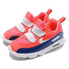 new concept 8876a 1b714 item 1 Nike Air Max Tiny 90 TD Bright Crimson Blue White Toddler Infant  Shoe 881924-604 -Nike Air Max Tiny 90 TD Bright Crimson Blue White Toddler  Infant ...
