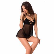 Passione, Nadia Chemise nero, sexy lingerie,