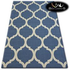 TRENDY Thick Carpets STYLISH MODERN RUG 'SCANDI' TRELLIS CHEAP Best-Carpets