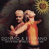 Entre La Linea del Bien Y La Linea del Mal by Donato & Estéfano (CD,...