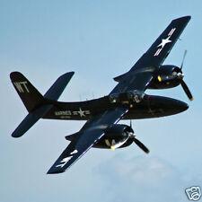 Giant  1/6 Scale Grumman F7F Tigercat Plans & Templates