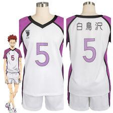 Haikyu Haikyuu 3 Cosplay Costume Shiratorizawa Academy Satori Tendo Uniform Suit
