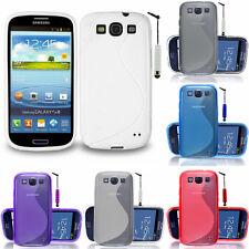 Schutz Hülle für Samsung Galaxy S3 i9300/ i9305 Neo TPU Silikon Case Etui Schale