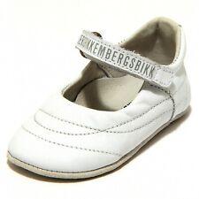5852G ballerina culla bimba bianca MY FIRST BIKKEMBERGS scarpa shoes kids
