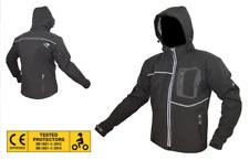 Giacca da Uomo X Moto ZEPHIR TESSUTO SOFT-SHELL Protezioni gomiti spalle Schiena