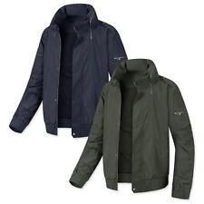 Mens Hood Side Open Blouson Jumper Casual Jacket Blazer Outwear Coat Top W349