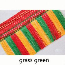 """11.5m Boho Ethnic Tassel Fringe Fringing Crop 12cm5"""" for Curtain Furniture Adorn"""