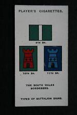 The South Wales Borderers  World War 1 1914/18  Battalion Insignia  #  VGC