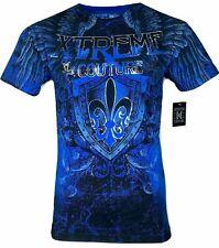 XTREME COUTURE by AFFLICTION Men T-Shirt COBU SMITHSONIAN Biker MMA S-5X$40