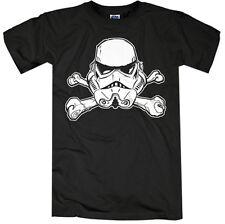 Star Wars Trooper Calavera Camiseta Camiseta T-Shirt Vader Skywalker Mercancía