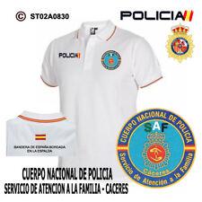 POLOS BANDERA DE ESPAÑA: CNP - SERVICIO DE ATENCION A LA FAMILIA