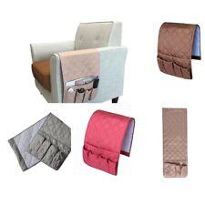 Sofa Couch Armrest Caddy Pocket Organizer -WATERPROOF TV Remote Book Holder