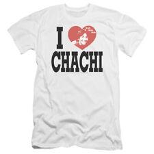 Happy Days I Heart Chachi Mens Premium Slim Fit Shirt