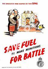 Économiser du carburant, vintage des informations publiques publicité, affiche reproduction.