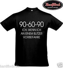 T-Shirt 90-60-90 Blitzer Geschenk Polizei Fun Lustig Weihnachten Freund Honda GT
