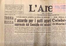M8 L'ARENA N. 38  ANNO LXXXIX DEL 13 FEBBRAIO 1955