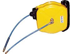 12M Retractable Air Compressor Hose Reel T&E Tools QS-2123B