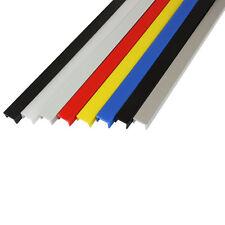 Abdeckprofil Nut 10 - Typ B - verschiedene Farben, 1 m
