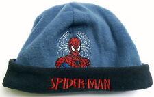 Neu! Spiderman Fleecemütze Winter-Mütze Beanie Mütze blau Gr.51 und 53