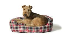 Lumberjack Red/Grey Deluxe Slumber Bed by Danish Design