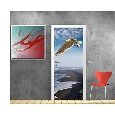 Poster format porte trompe l'oeil Mouette 613 Art déco Stickers