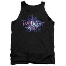 The Twilight Zone The Twilight Galaxy Mens Tank Top Shirt Black