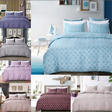Geometric Comforter Bedding Set Duvet Cover Pillow Case Twin/Queen/King Size New