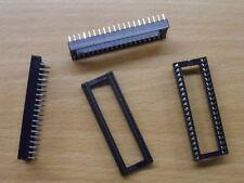 "Low Profile 40 Pin IC Socket DIL 0.6"" wide Way DIP chip 1x 4x 4pcs 20x 20pcs"