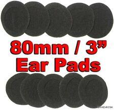 80mm Foam Ear Pad Cover Earphone Earpad - 10 Pack