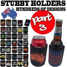 Stubby Holder Funny Novelty Stubbie Birthday Gift - SUPER VARIOUS DESIGNS BH3