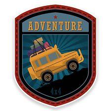 2 X Aventura off-roading Etiqueta Auto Moto Ipad Laptop Land Rover Jeep 4x4 # 9181