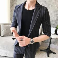 Men Blazer Suits  Coat  Pants Fashion  Dress Formal Jacket party Wedding @BT02