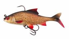 8 et 10 yeux sans ardillon ronde bronzée Carpe Brème Roach Pêche Crochets Taille 6