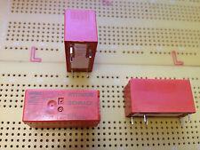 10 A SPDT non-Aggancio Relè 6 V DC BOBINA AGNI contatto Qtà Multi