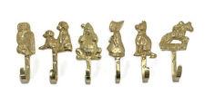 "Brass Motif Hook Hat and Coat Clothes Door Hook Ornament By Banner 5"""