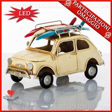 Bomboniere compleanno, comunione lampada led auto vintage  linea Cuorematto