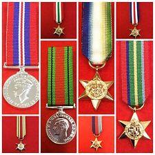 World War 2 Miniature Medals WW 11 Miniature Medals & WW 2 Clasps Artic star